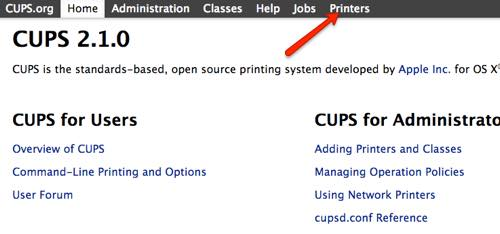 th_CUPS printers